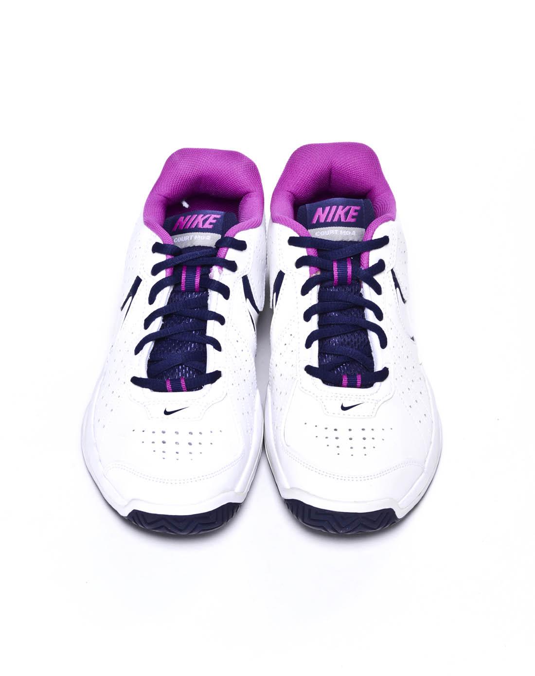 耐克nike-女子白色网球鞋431847-100