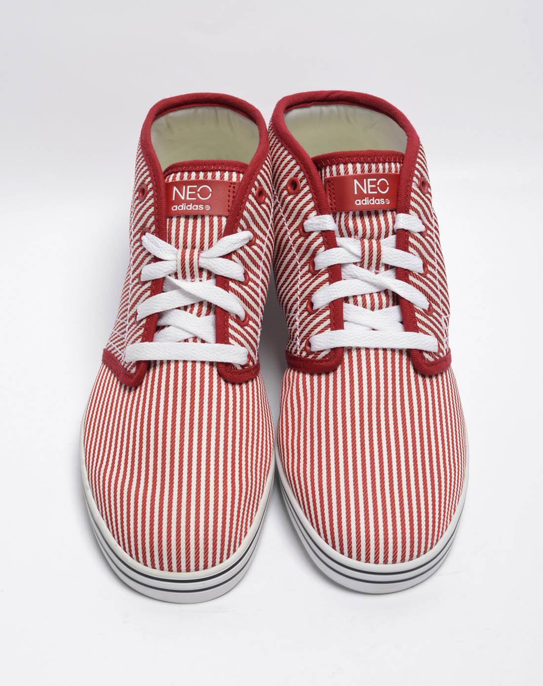 阿迪达斯adidas男子红 白复古鞋G53033 唯品会 -男子红 白复古鞋