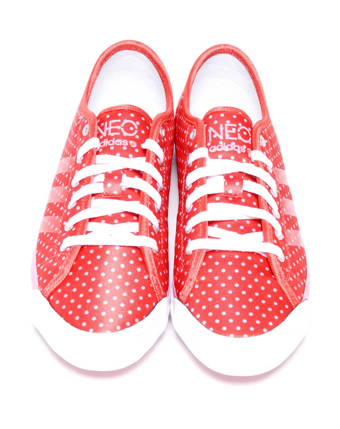 阿迪达斯adidas女子红色复古鞋G53797 唯品会 -女子红色复古鞋