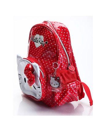 kitty女童红色背包