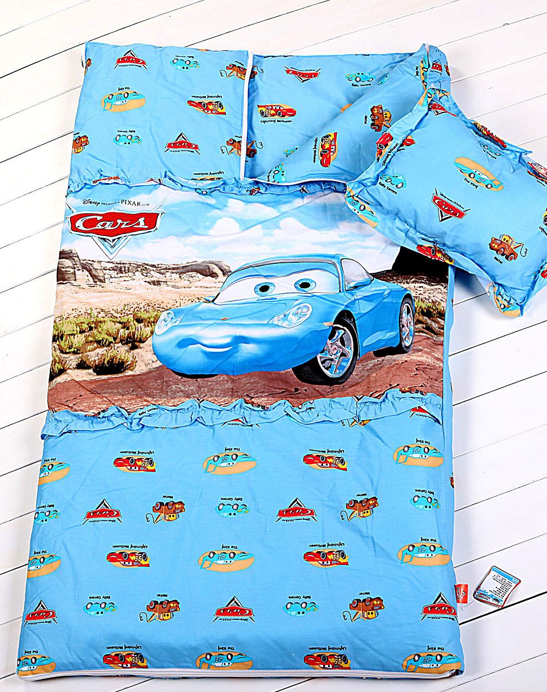 迪士尼disney家纺专场全棉儿童睡袋-汽车总动员sd01 竖