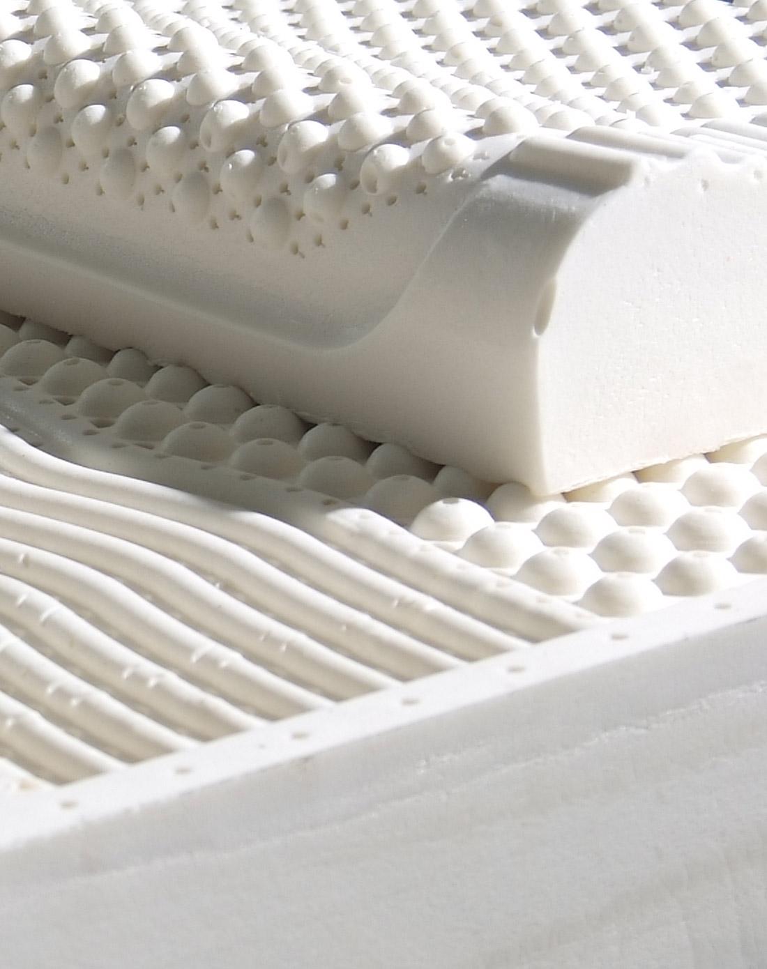 乳胶七区按摩床垫(5cm)图片