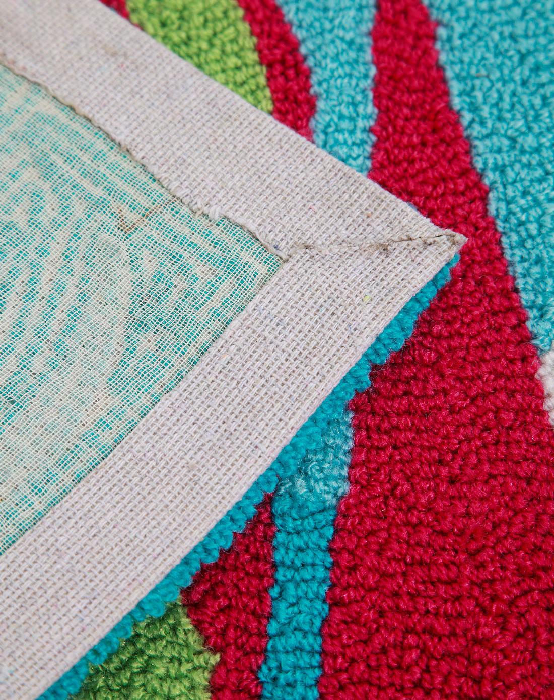 高级手工编织地毯4hr046