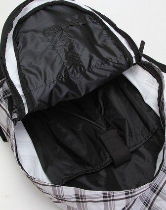耐克nike男款灰色格子百搭双肩背包ba4263-012