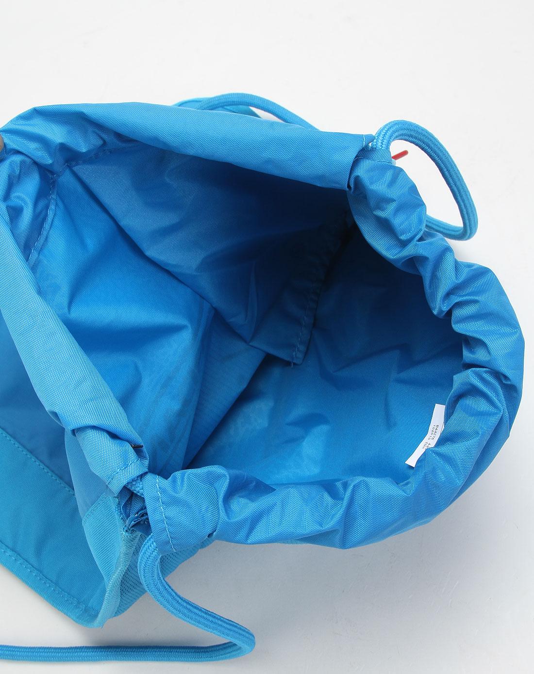 耐克nike男款蓝色简约绳索式双肩包ba4276-495