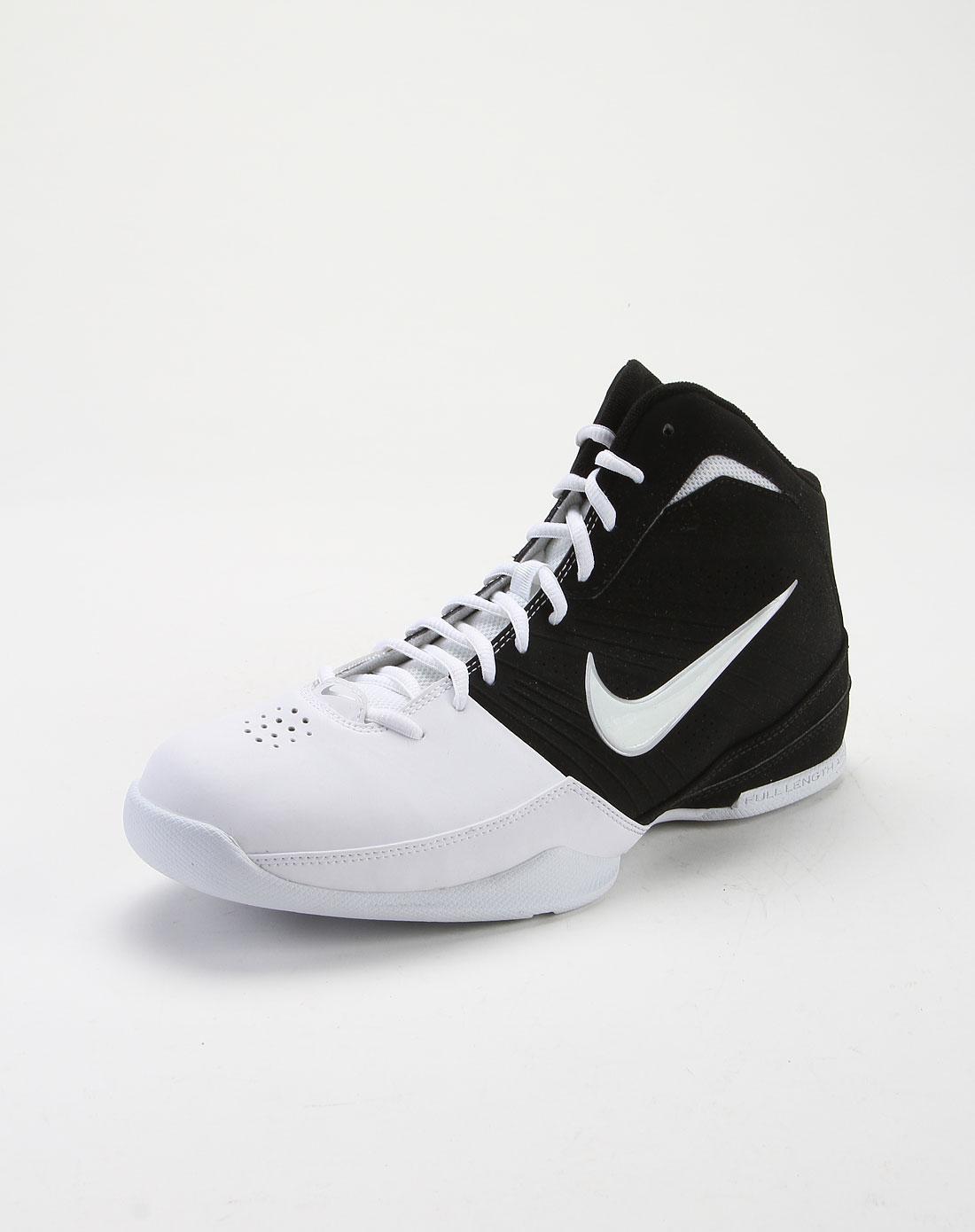 耐克nike-男款黑白撞色新潮时尚篮球鞋472633-004