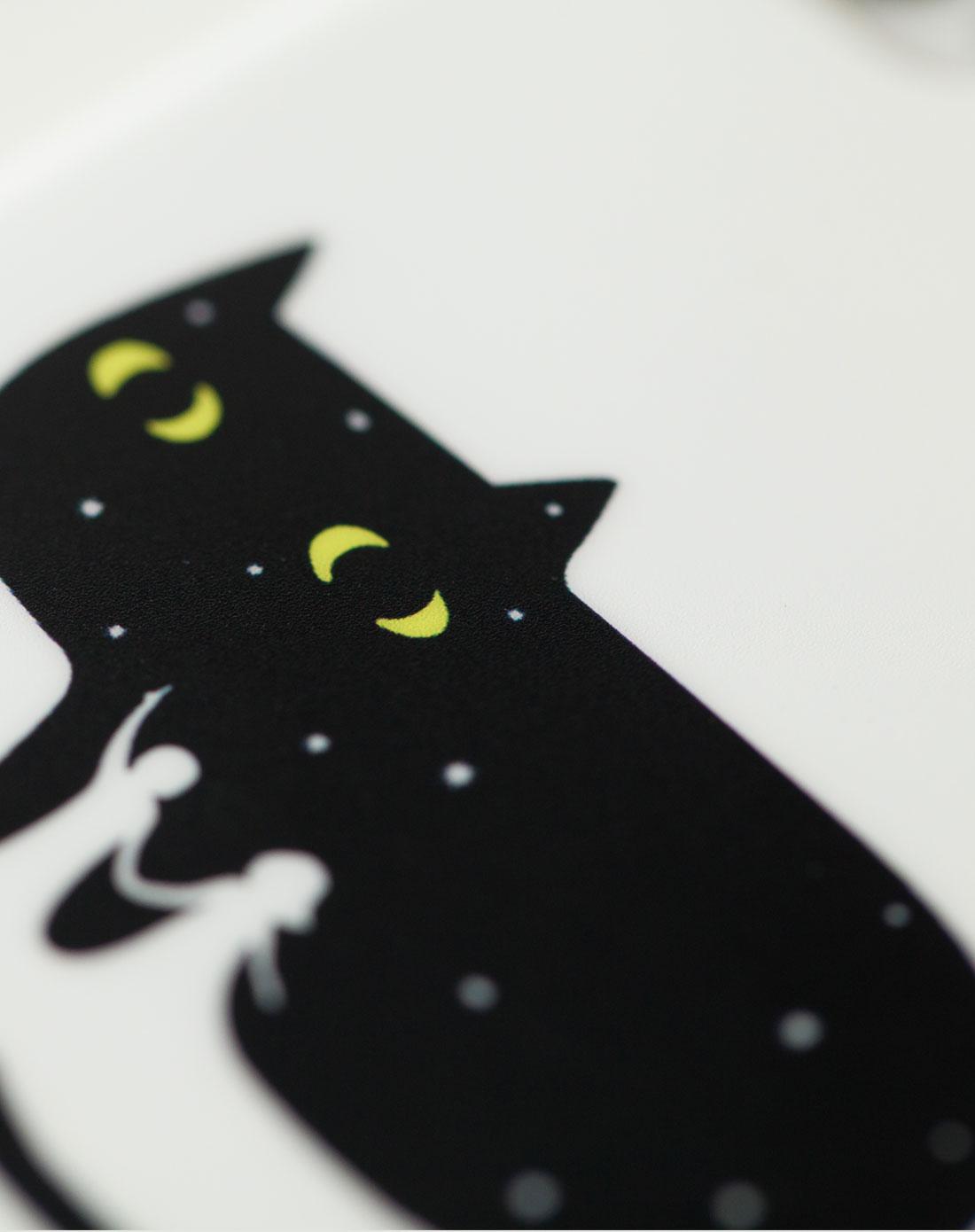 卡通iphone4-4s动漫手机壳-款式月亮猫sas13070082