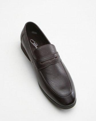 宾度j.benato棕色典雅绅士皮鞋mc85311b4001