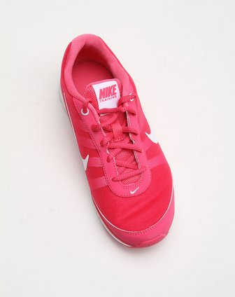 耐克nike-女款网面轻盈个性玫红色运动鞋488111-600
