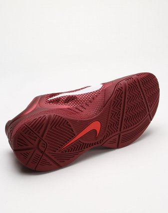 耐克nike-男款酒红色动感篮球鞋452872-610