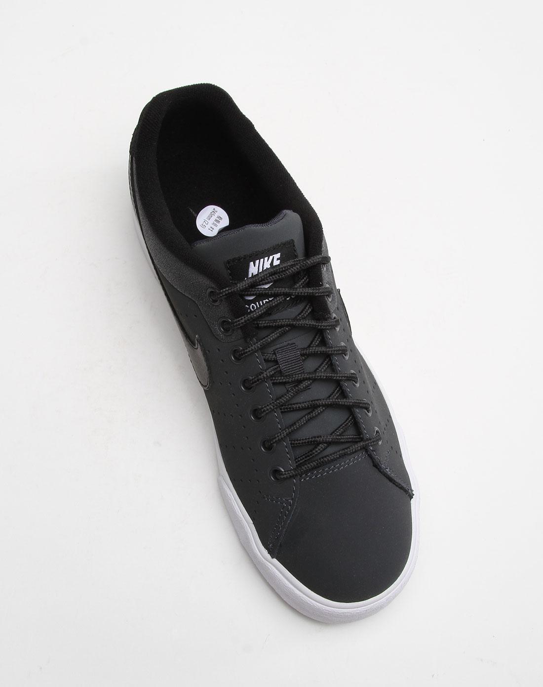 耐克nike-男款灰黑色冲孔休闲板鞋536854-011