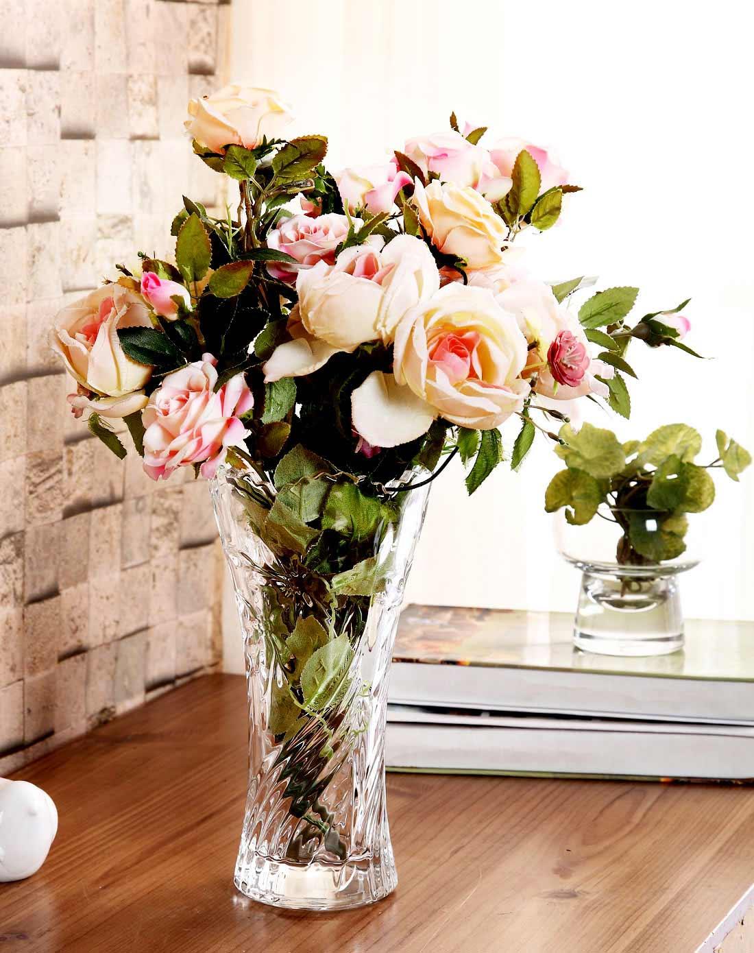 荷玛heim欧式水晶玻璃花瓶-齿口兰花m870259